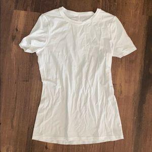 Lululemon white tshirt